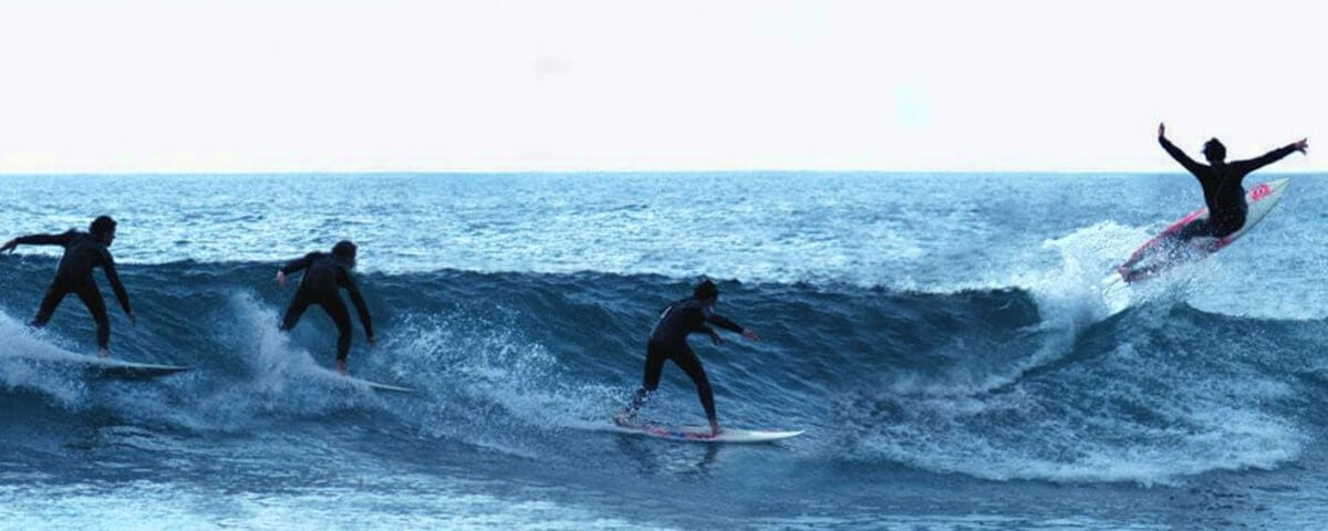 learning to surf waves
